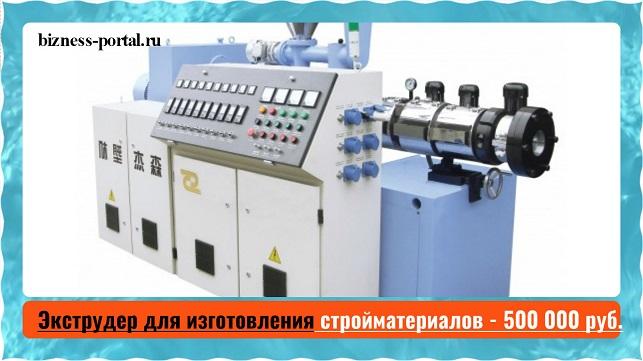 Изображение - Выбираем оборудование для производства в гараже ehkstruder-dlja-izgotovlenija-strojmaterialov-500-
